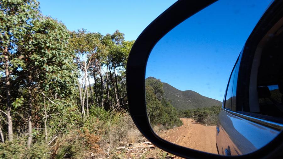 der Stirling Range Drive, Australien