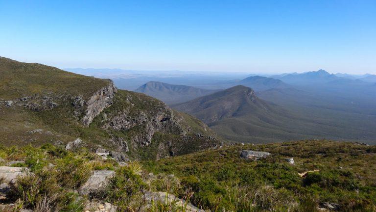 Bluff Knoll - oben angekommen!, Stirling Range NP, Australien