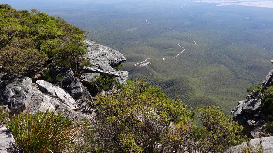 vom Gipfel des Bluff Knoll im Stirling Range NO, Australien