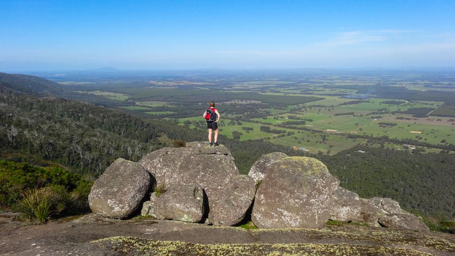 Nancy Peak, Porongurup NP, Wandern Australien