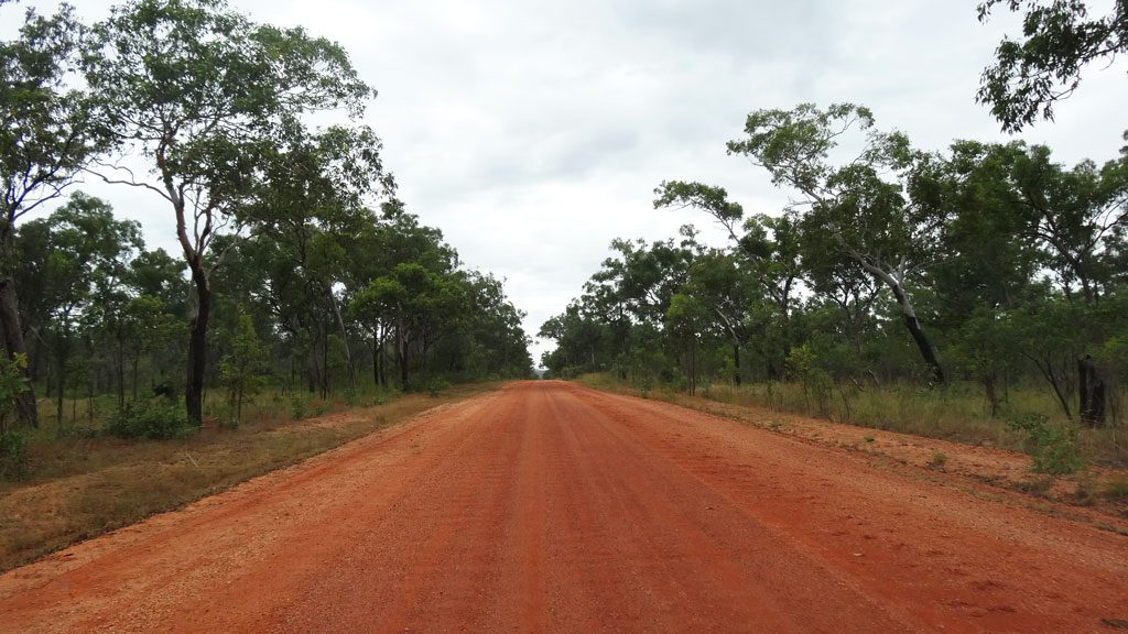 Dirtroad im Northern Territory