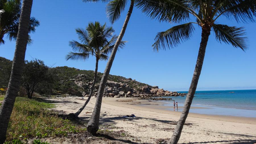 Bowen am Strand, Australien Ostküste in Australien