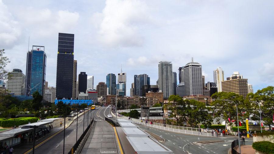 Brisbane Skyline, Australien Ostküste