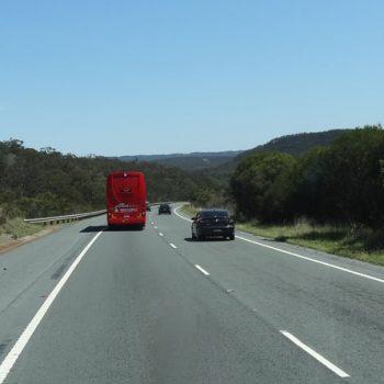 Greyhound-Bus, Australien