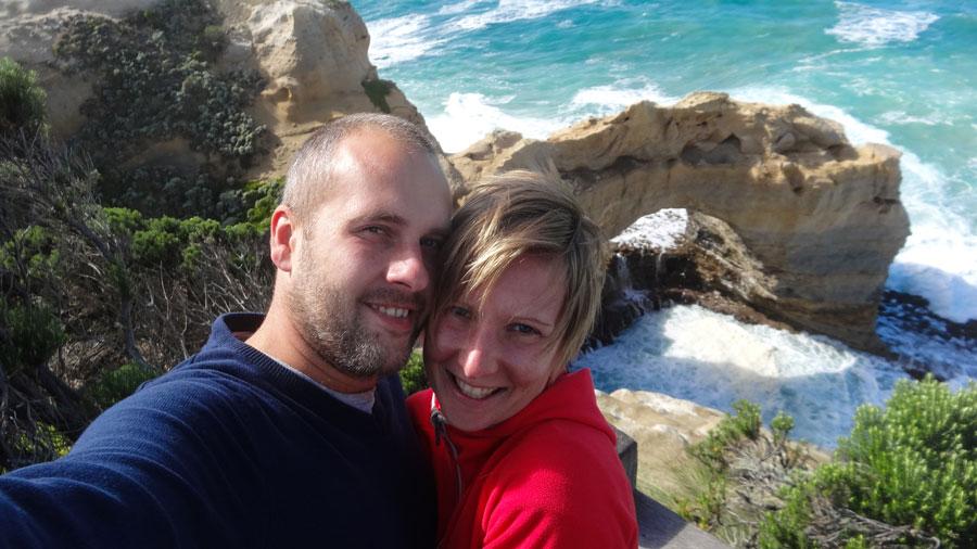 Adam und Ivonne in Australien