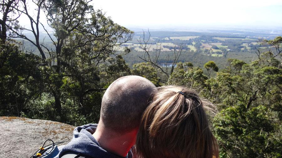 Hayward Paek, Porongurup NP, Wandern Australien