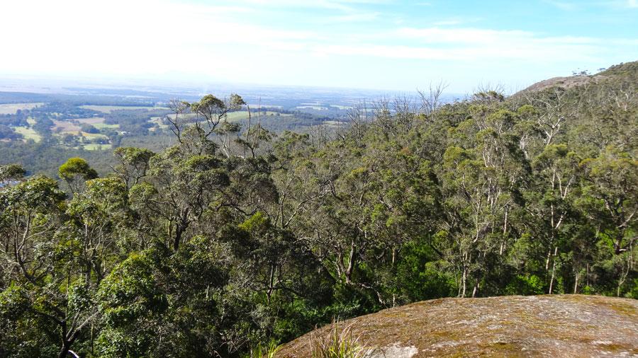 Hayward Peak, Porongurup NP, Wandern Australien