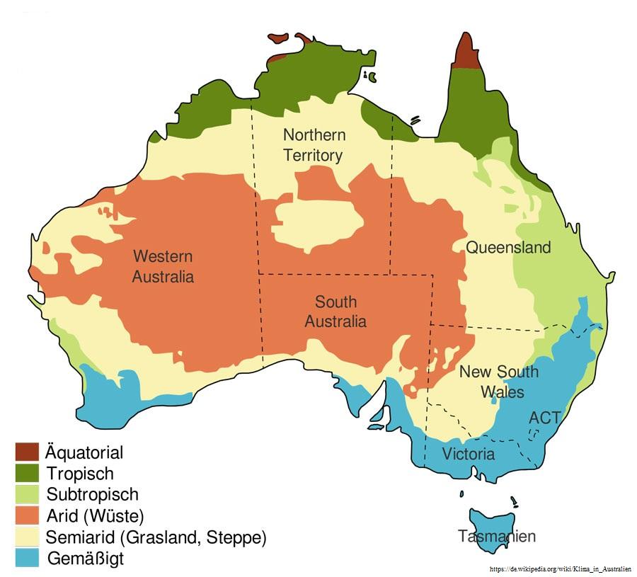 Klima in Australien – Infos zur besten Reisezeit