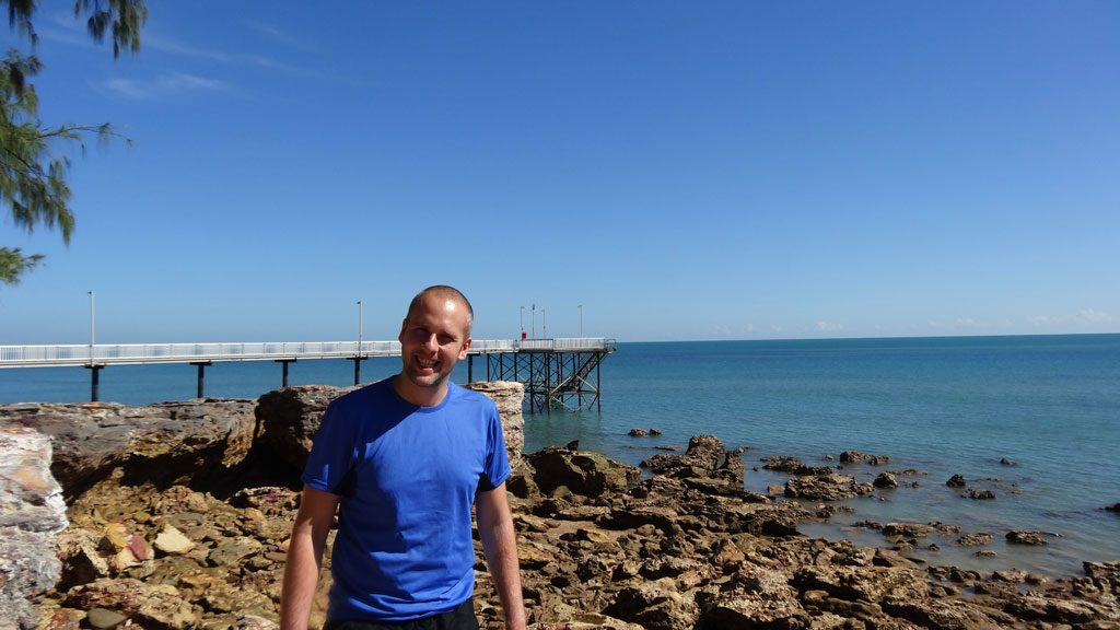 Der Jetty in Nightcliff