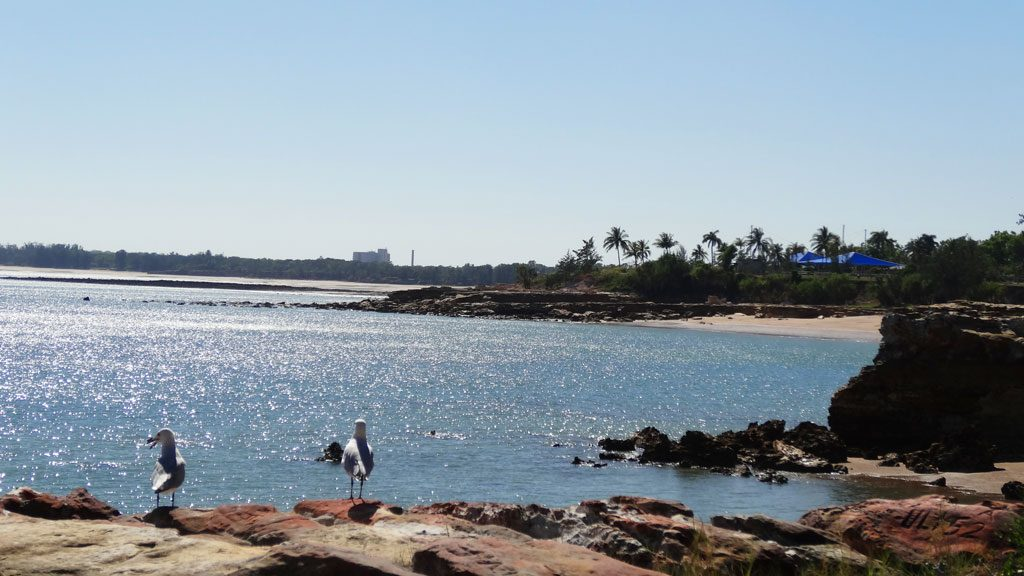 Ausblick in Nightcliff in Darwin