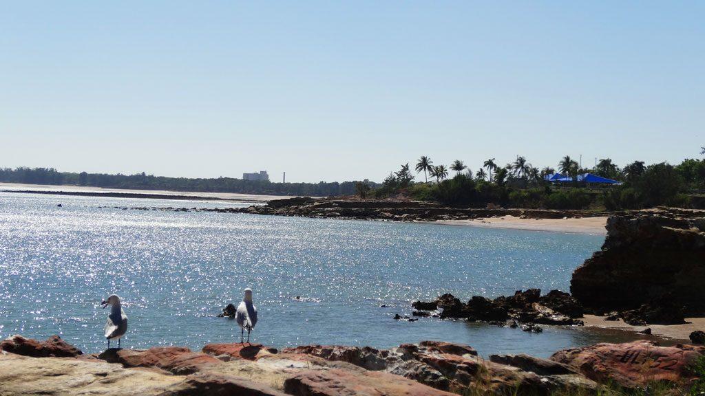 Ausblick in Nightcliff in Darwin