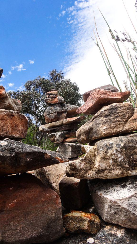 Selbstgebaute Felsformationen im Grampians Nationalpark