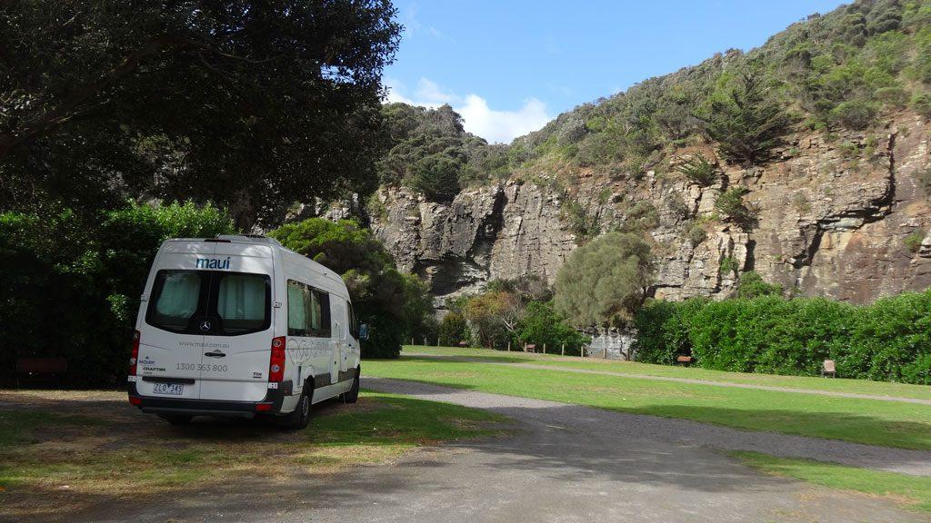 Campingplatz an der Great Ocean Road