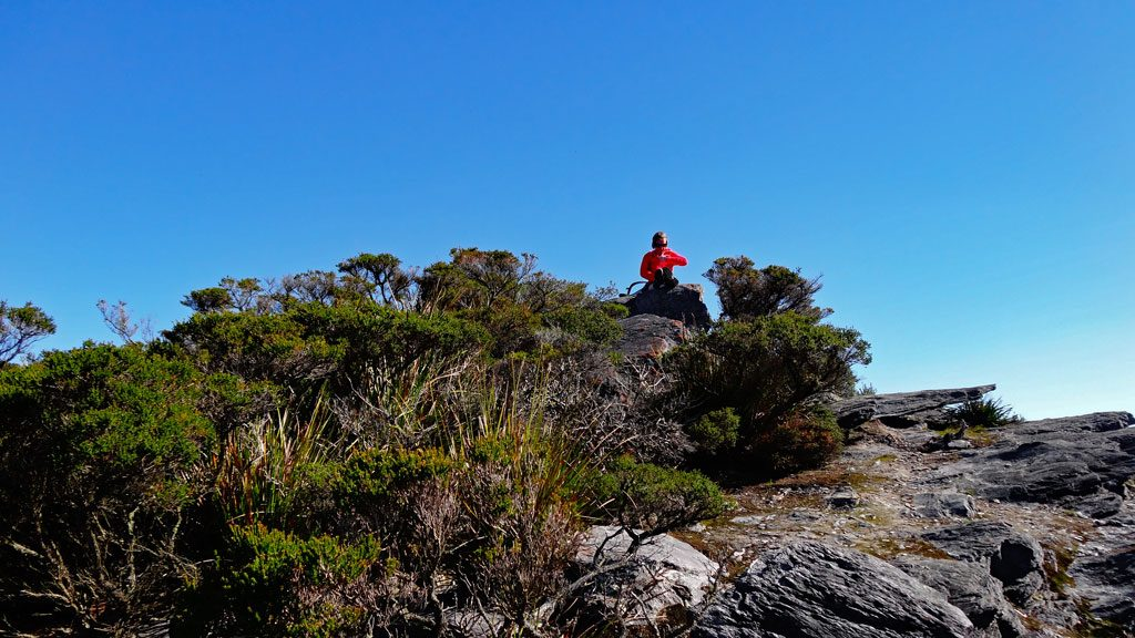 Stirling Range NP - Lunchpause auf dem Bluff Knoll