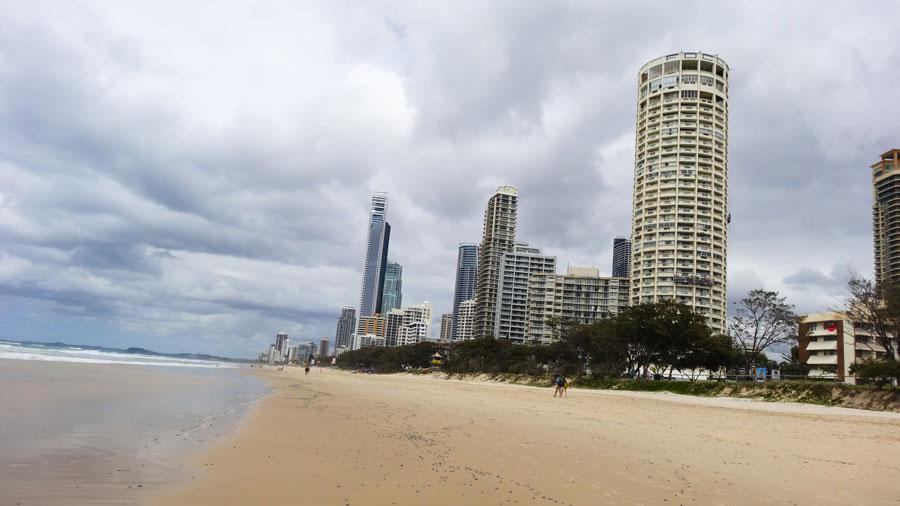 Surfers Paradise, Australien Ostküste