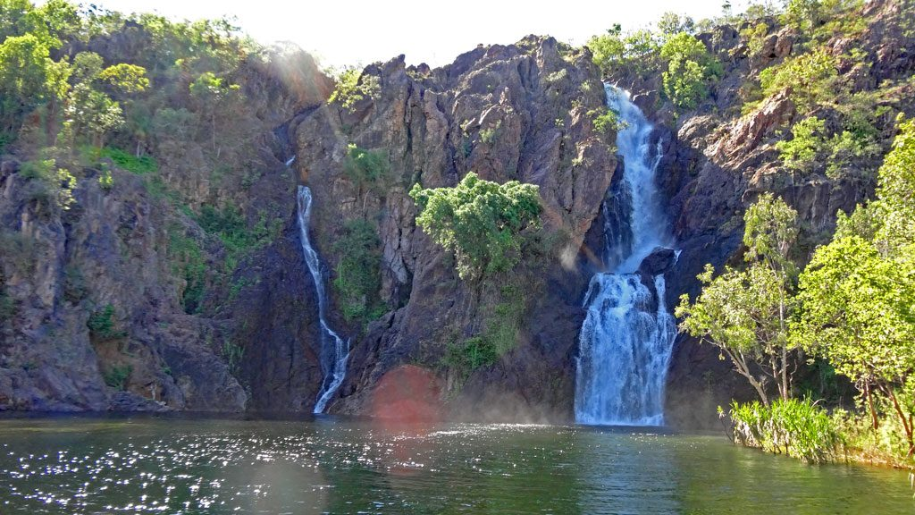Wangi Falls im Litchfield Nationalpark