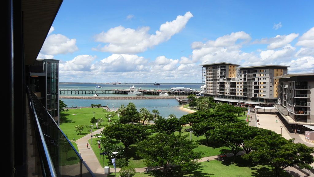 Waterfront Precinct am Kitchener Drive in Darwin