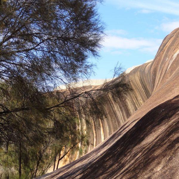 Wave Rock in Hyden, Western Australia