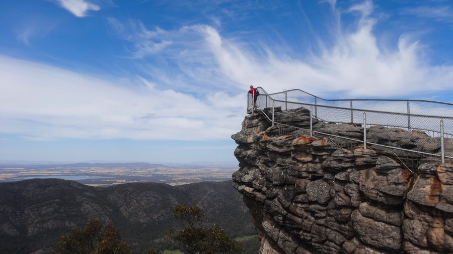 The Pinnacle- Grampians Nationalpark Australien