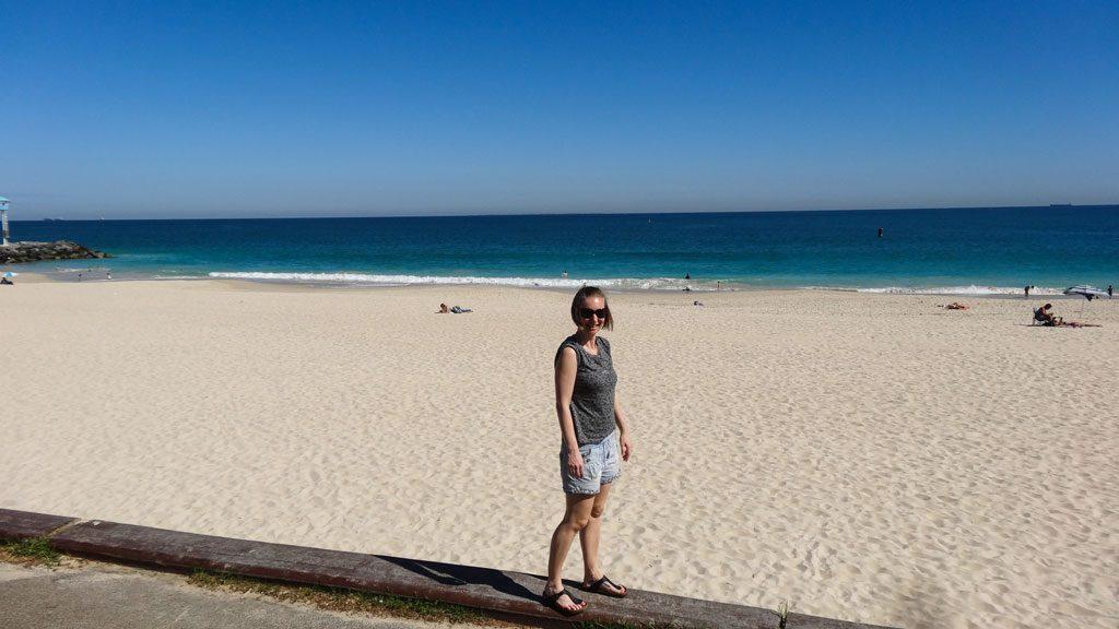 Ausblick City Beach bei Perth, Western Australien