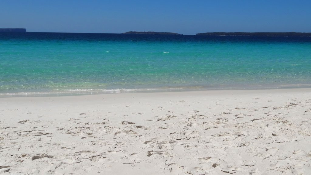 Hyams Beach im Booti Booti Nationalpark