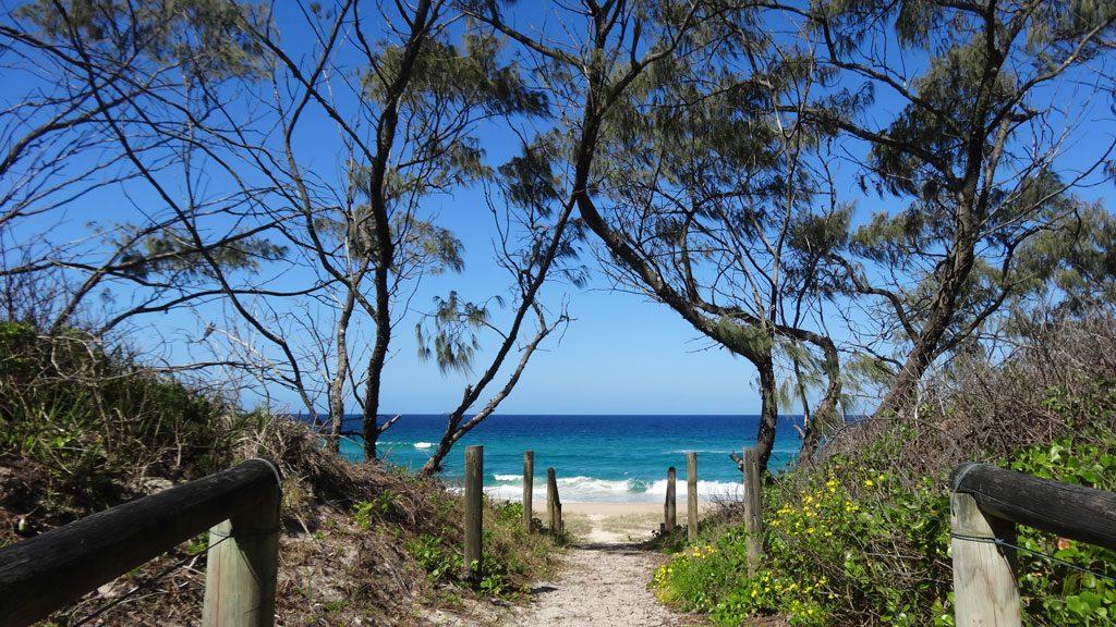 Booti Booti Nationalpark, Zugang zum Seven Mile Beach