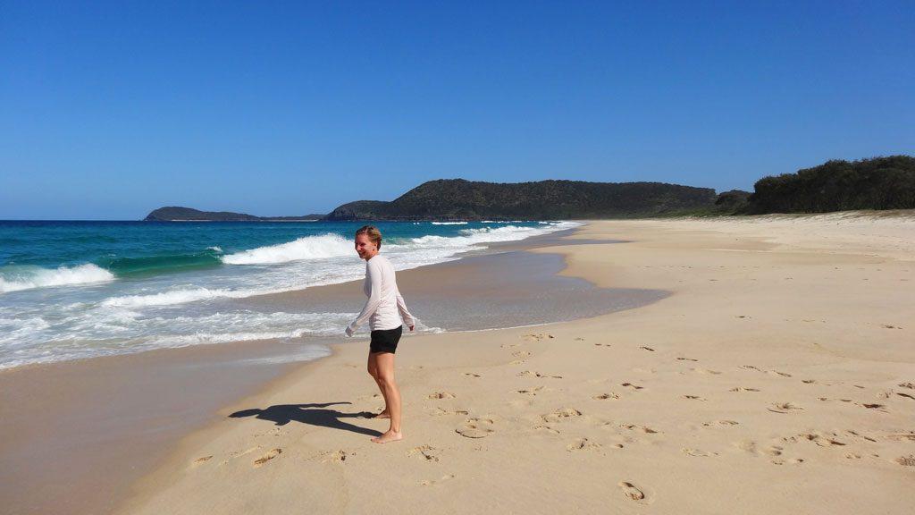 Seven Mile Beach in Australien