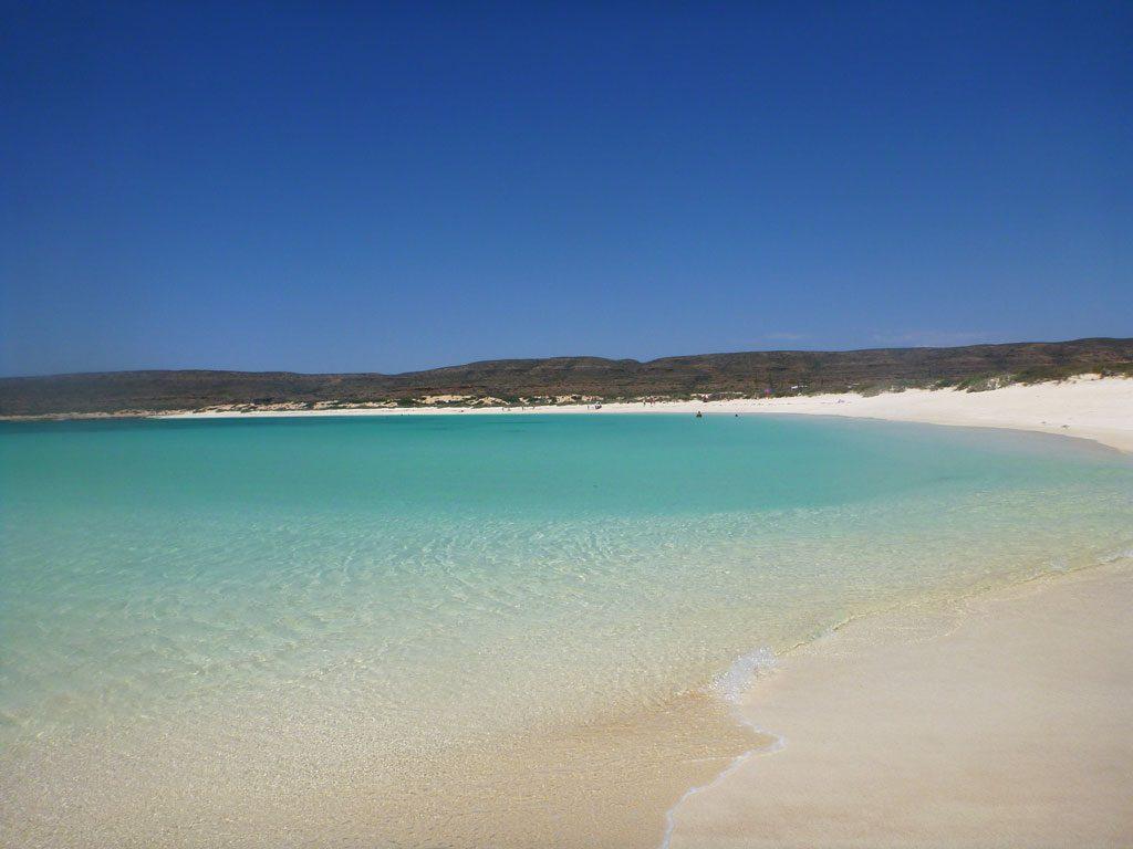 Turquoise Bay in western Australien