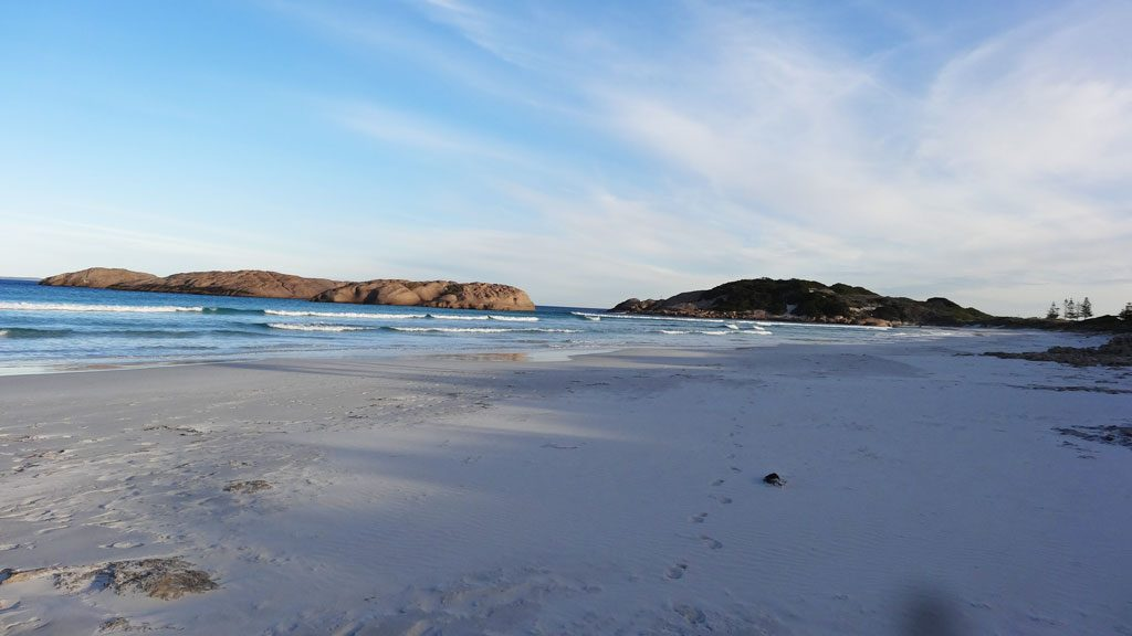 Twilight Beach in Esperance, Western Australien
