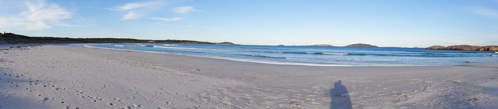 Panorama vom Twilight Beach in Esperance