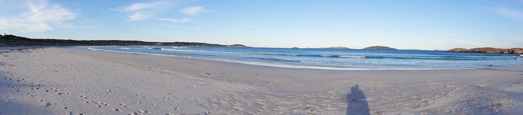 Panorama vom Twilight Beach in Esperance