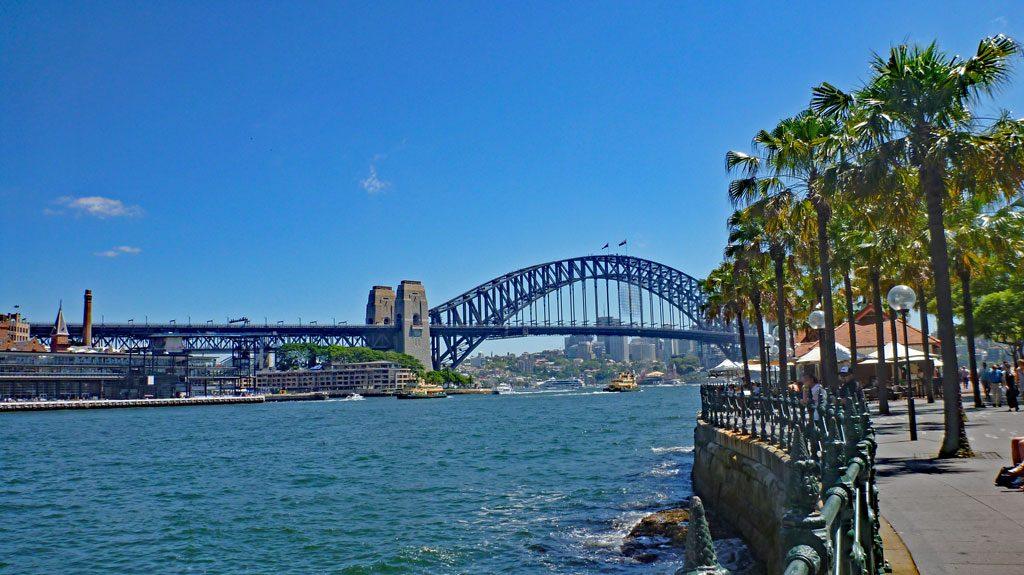 Harbour Bridge vom Wasser
