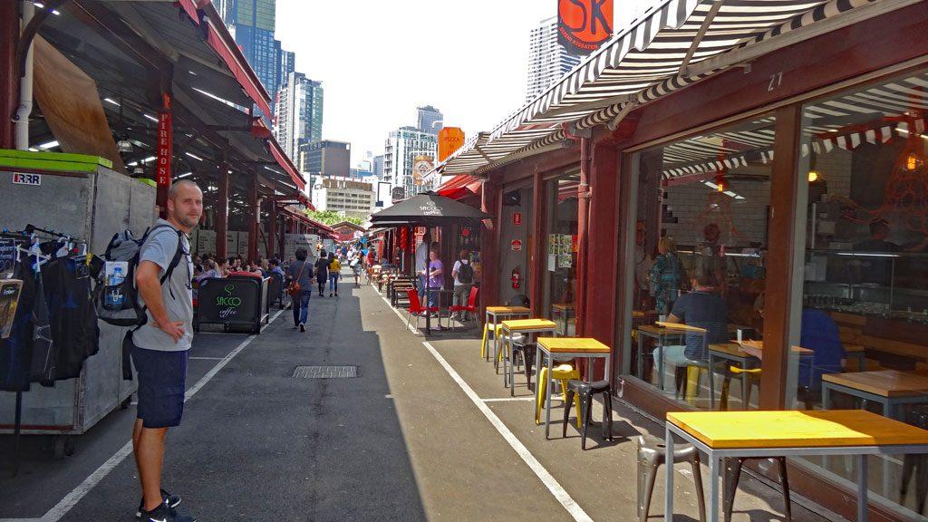 Queen Victoria Markets in Melbourne