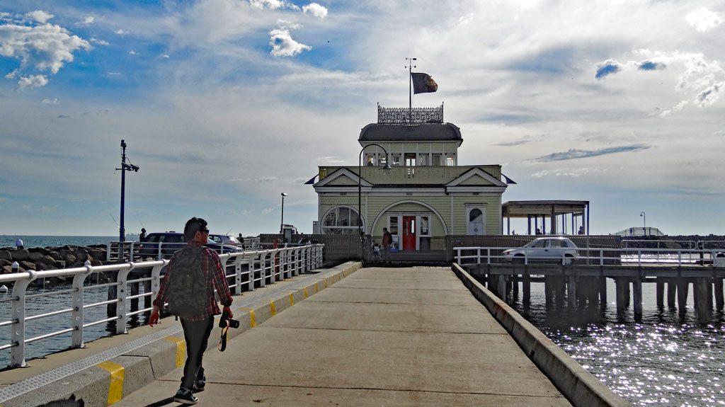 St. Kilda Pier in Melbourne