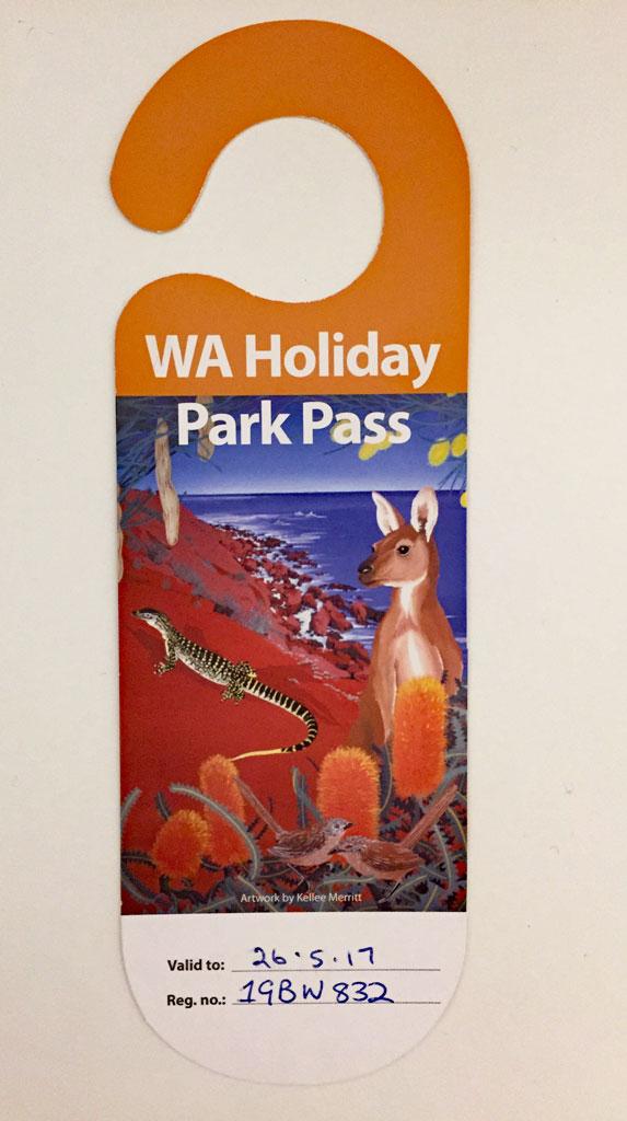 WA Holiday Park Pass - Kosten Australien Urlaub einsparen