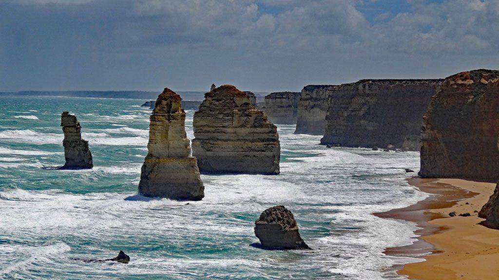 Die 12 Apostles an der Great Ocean Road