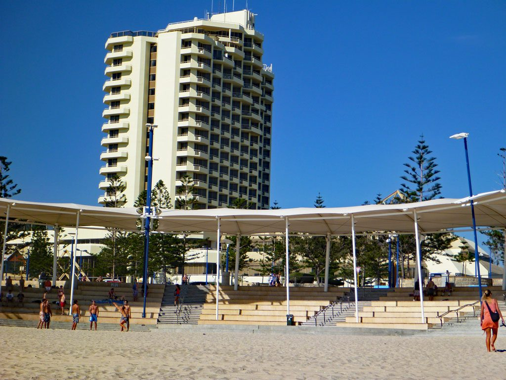 Scarborough Beach in Perth