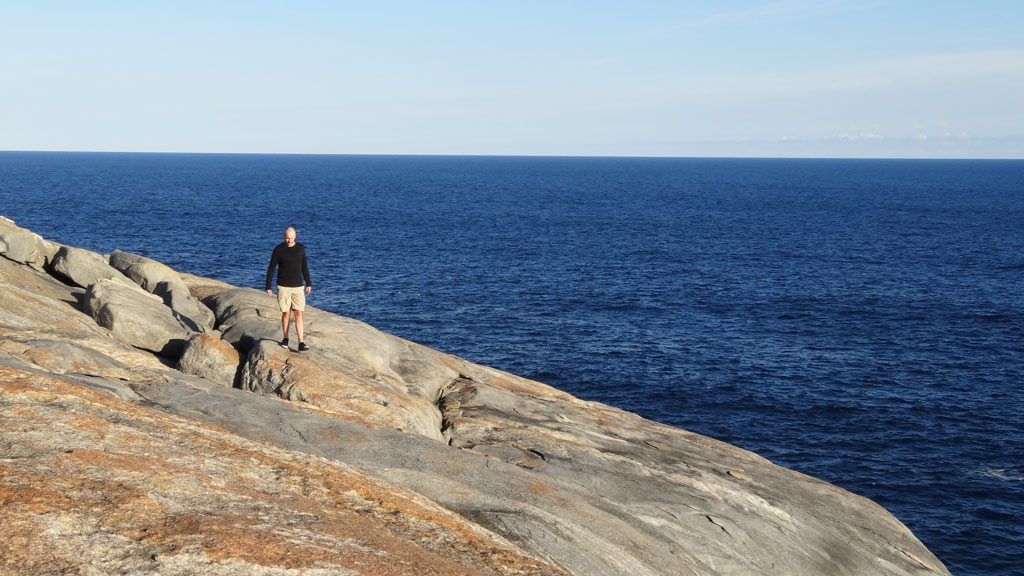 Salmon Holes - Weg zu den Blow Holes im Torndirrup Nationalpark