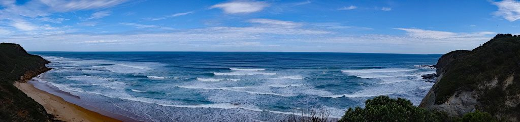 Panorama-Ausblick am Cape Otway