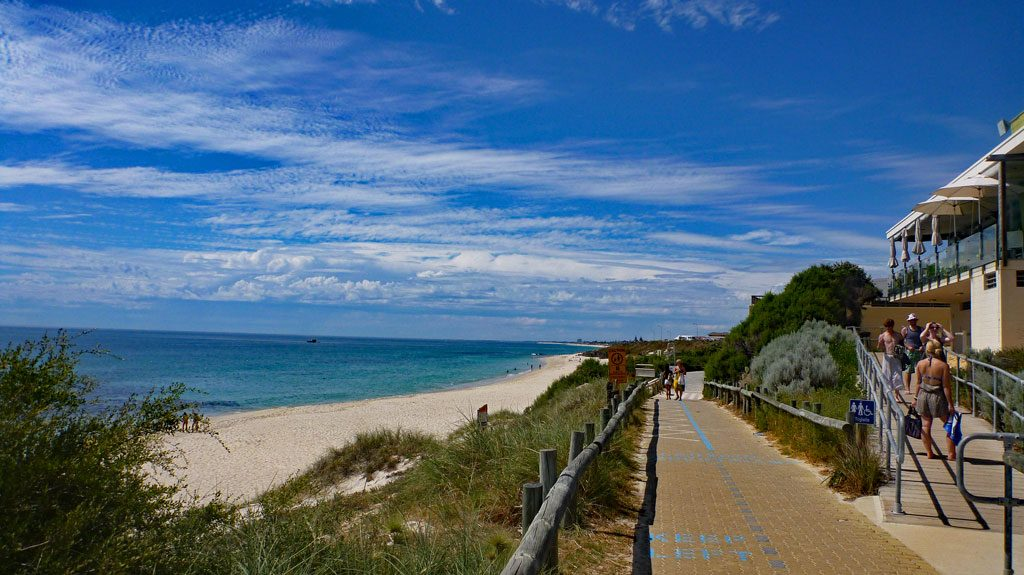 Cottesloe Beach in Perth