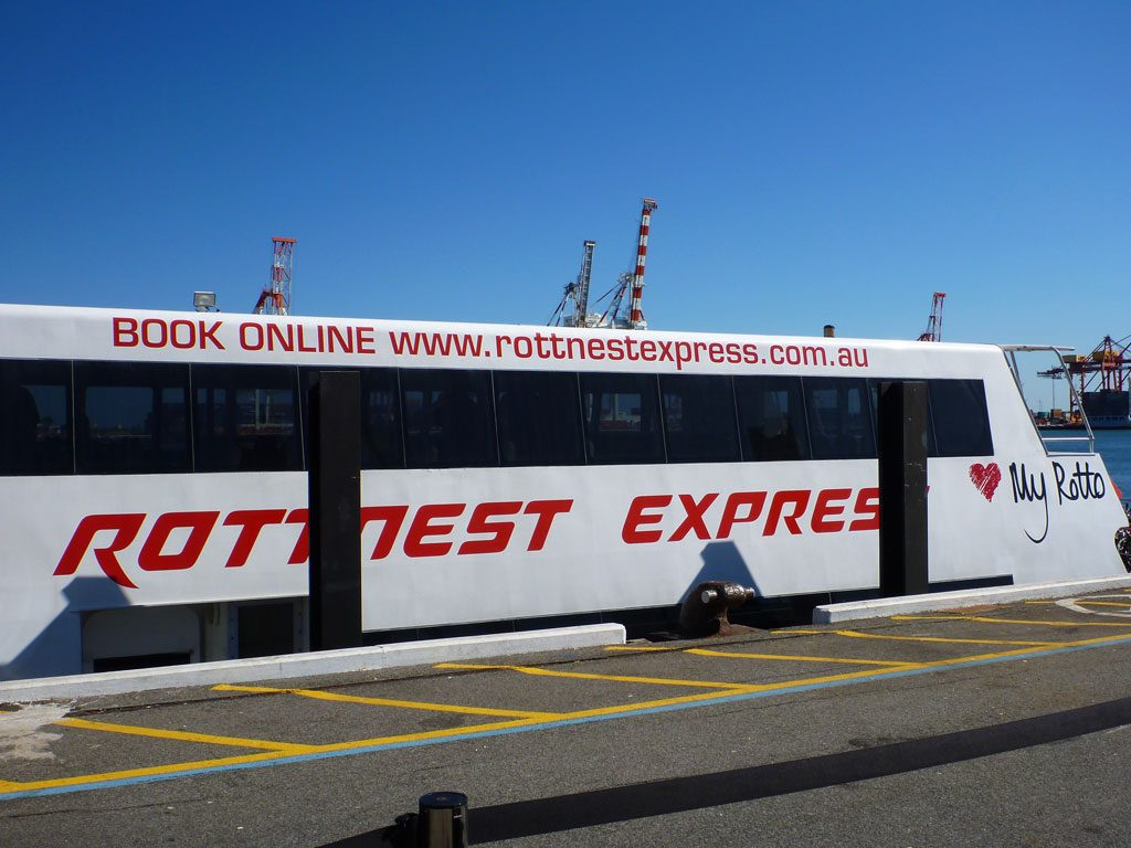 Rottnest Express Ferry von Freemantle