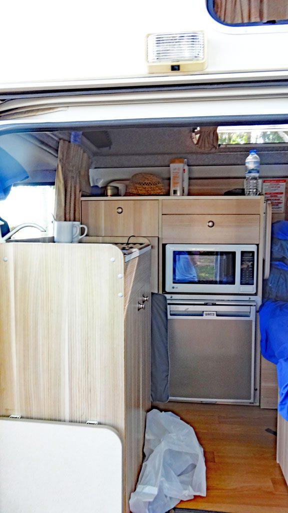 HiTop Camper Küche