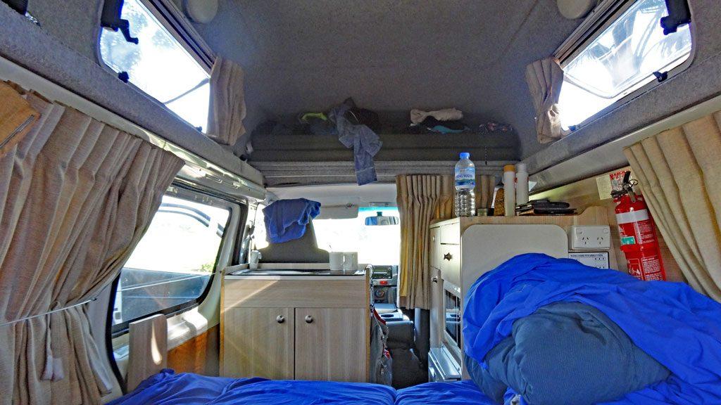 Hitop Camper Apollo Wohnraum