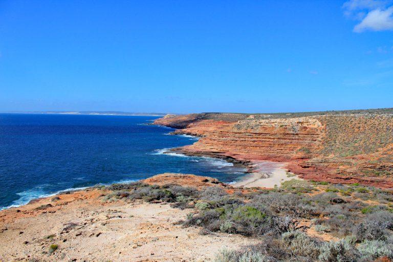 Küstenlinie im Kalbarri Nationalpark, Westküste Australien