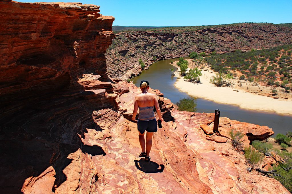 Trail zum Nature´s Window im Kalbarri Nationalpark