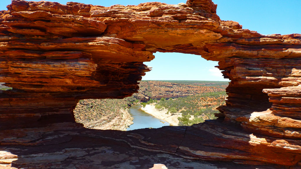 Nature´s Window im Kalbarri Nationalpark