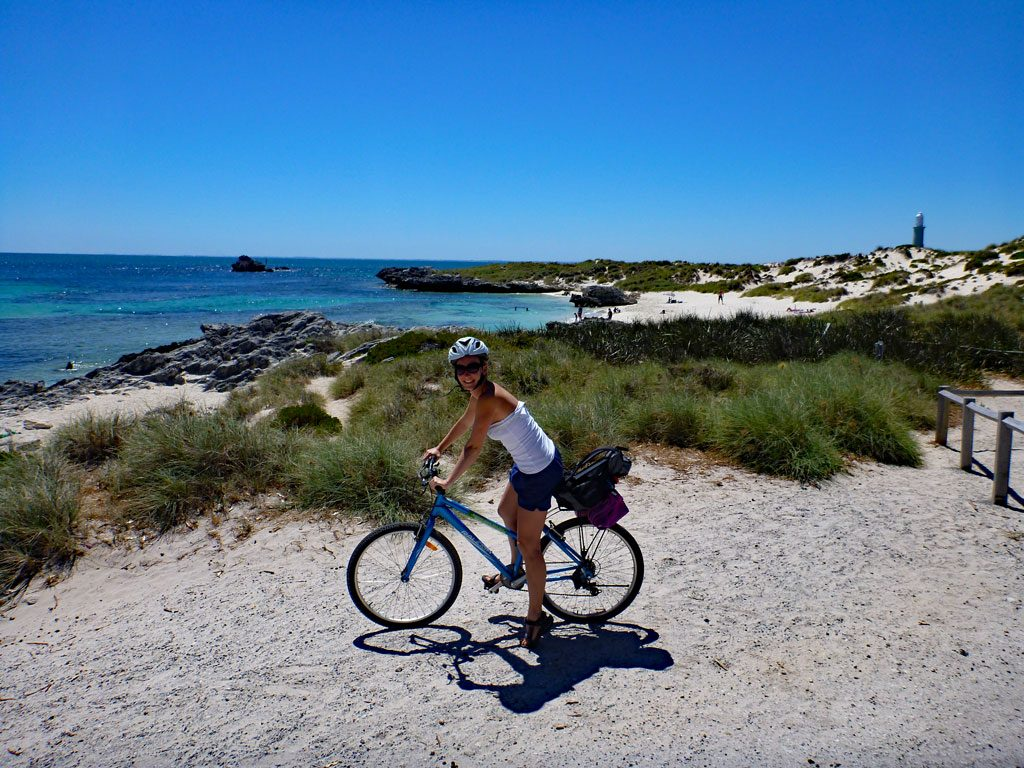 Fahrrad fahren auf Rottnest Island