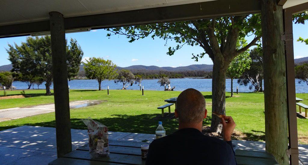 Campingplätze Australien Camp-Kitchen in Eden