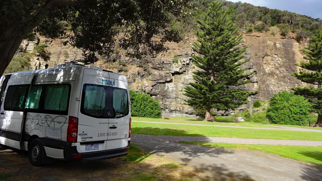 Campingplätze Australien Stellplatz Great Ocean Road