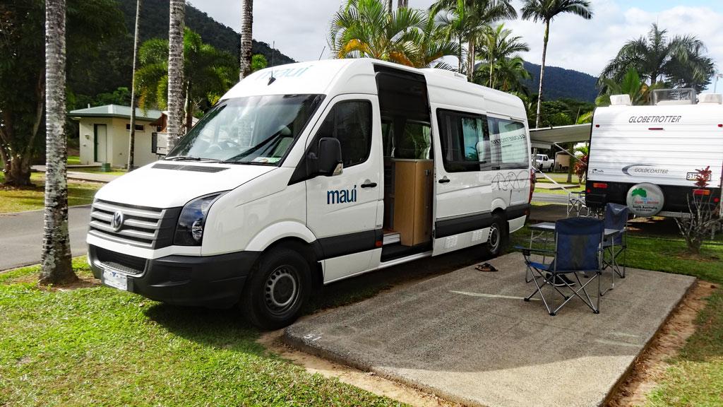 Campingplätze Australien Stellplatz in Cairns
